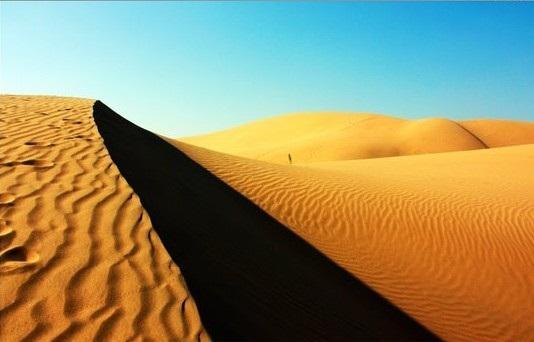 库布其沙漠旅游景点风景