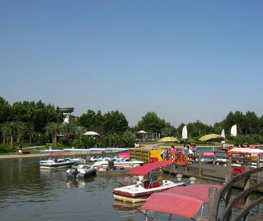 闵行体育公园旅游景点风景